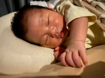 あいのり・桃の夫、息子の1か月健診を終え安堵「大人の対応で、ぐっすり寝てました」