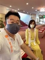 花田虎上、新車の車祓いに妻と神社へ「これで少し安心して運転できる」