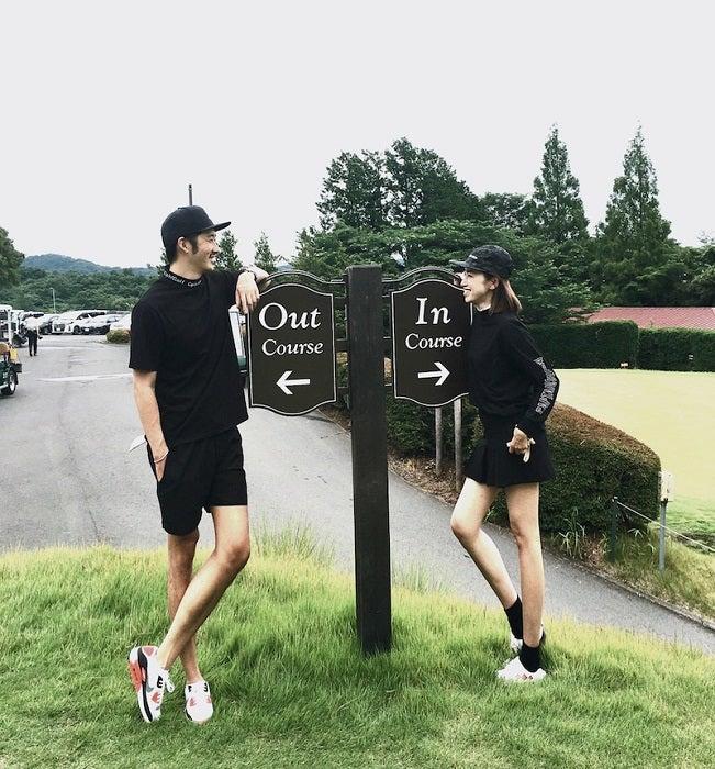 仁香、夫・柴田翔平氏&義父とゴルフを堪能「翔平は私より上手くなってたー」