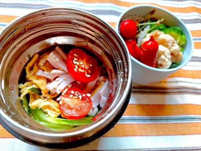 飯田圭織、暑い日の定番品で作った息子弁当「さっぱりと食べられるはず」