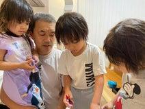 大渕愛子氏、息子達の影響を受けた娘の行動に「遊び方をマスターして、大満足」