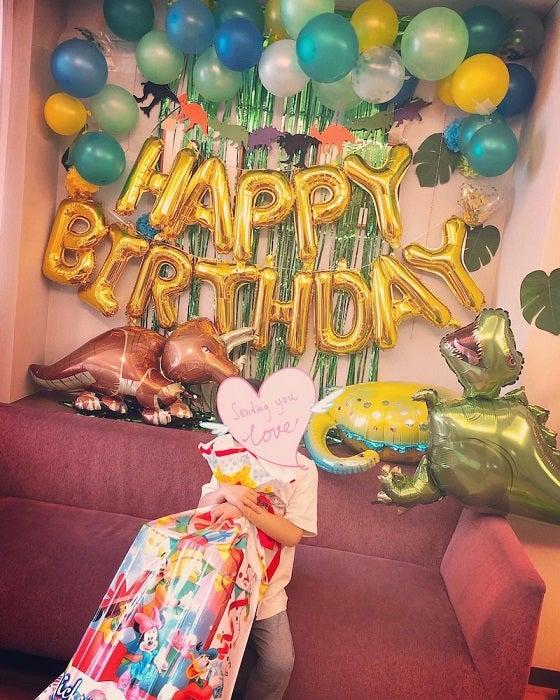 釈由美子、息子が5歳の誕生日を迎え実感したこと「無理せず楽しく頑張ります」