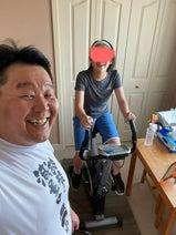 花田虎上、娘のトレーニングをマンツーマン指導「腹筋も様になってきた」