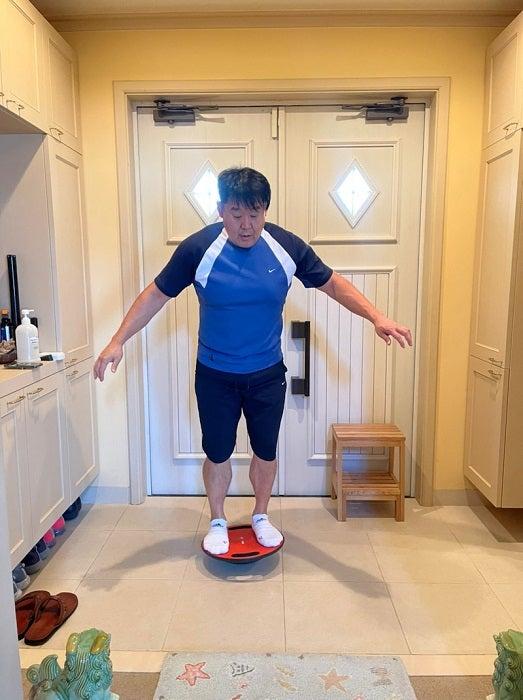 花田虎上、体重が減りにくくなっている理由「減らないから動くしかない!」