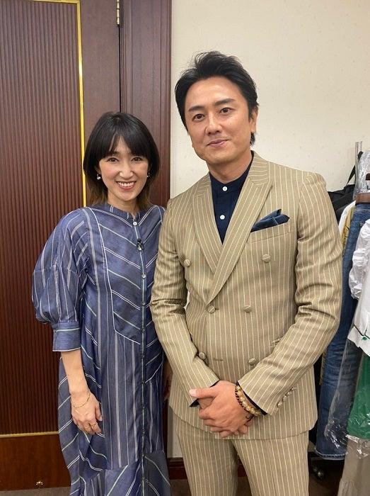 原田龍二の妻、緊張しまくりだった生放送「結婚20年目の良い記念になりました」
