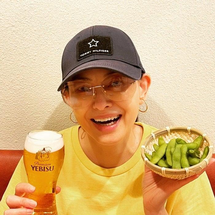 田中美奈子、結婚当初から10kg太った夫とランチデート「お蕎麦は、どちらも大盛り」