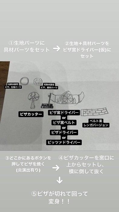 """鈴木福、自身が考案した""""仮面ライダーピザ""""のアイデアを披露するも「ダサいことに気がついた」"""
