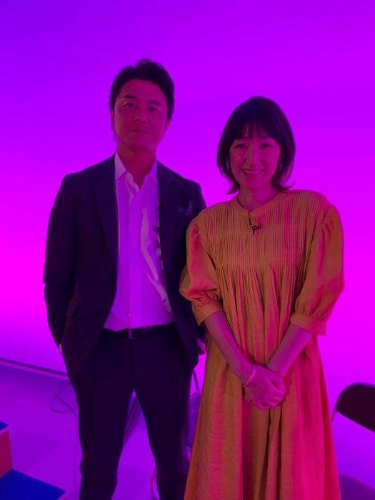 原田龍二の妻、今年で結婚20年目を迎える夫との2ショットを公開「面白い相棒です」