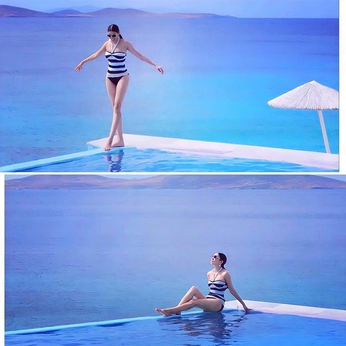 アンミカ、6年前の水着姿を公開「素敵」「女神」の声