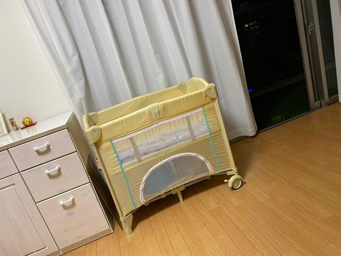 つちやかおり、購入した孫用のベッドを100均アイテムで補強「かなりしっかりした~!」