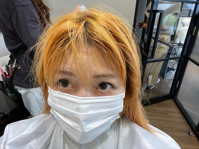 あいのり・桃、産後初めて美容院を訪れ金髪姿を披露「すごく素敵な色になりました」