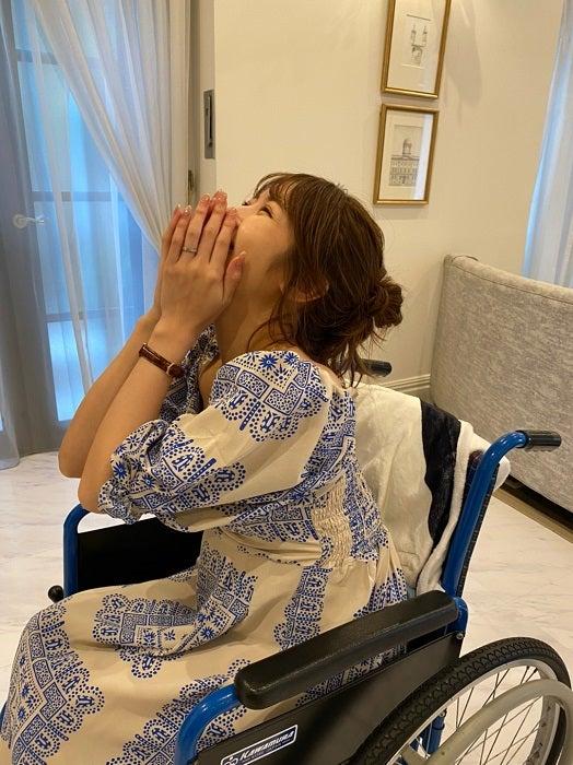 くみっきー、車椅子を用意してくれたスタッフに感謝「気遣いの最上級」