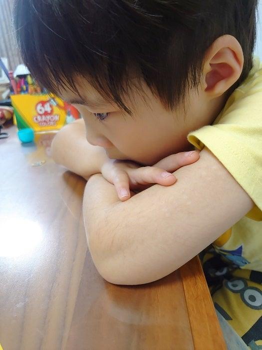 山田花子、夏休み初日に泣いた次男を説得する長男「このご時世、駄目なんだよ」