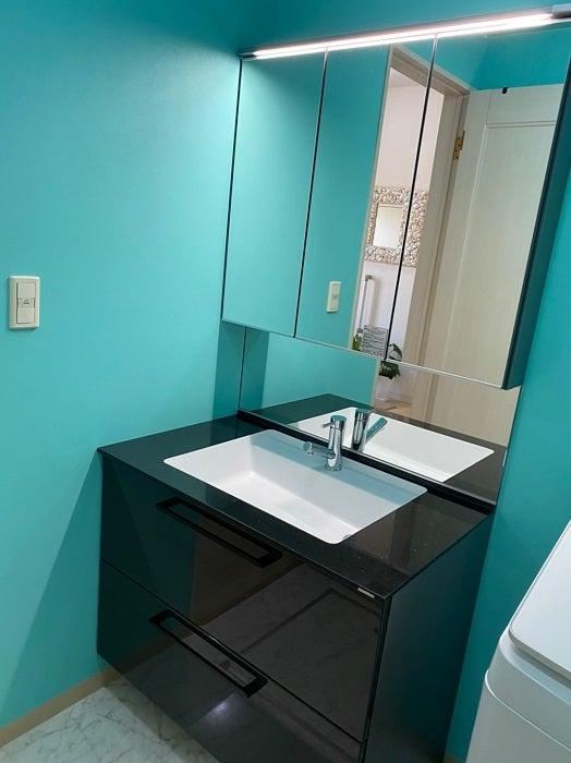 原田龍二の妻、新調した洗面台の設置完了を報告「とっても気に入った」