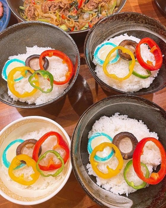 みきママ『東京オリンピック』を記念した夕食を公開「発想に感服」「凄い」の声