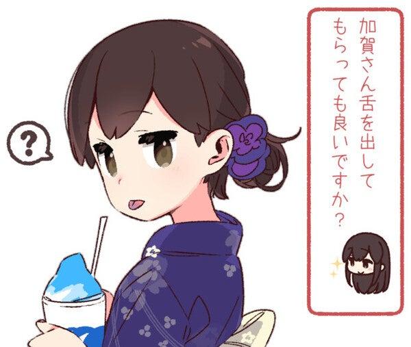 夏はやっぱりコレ! 「かき氷」を食べる女の子イラスト詰め合わせ