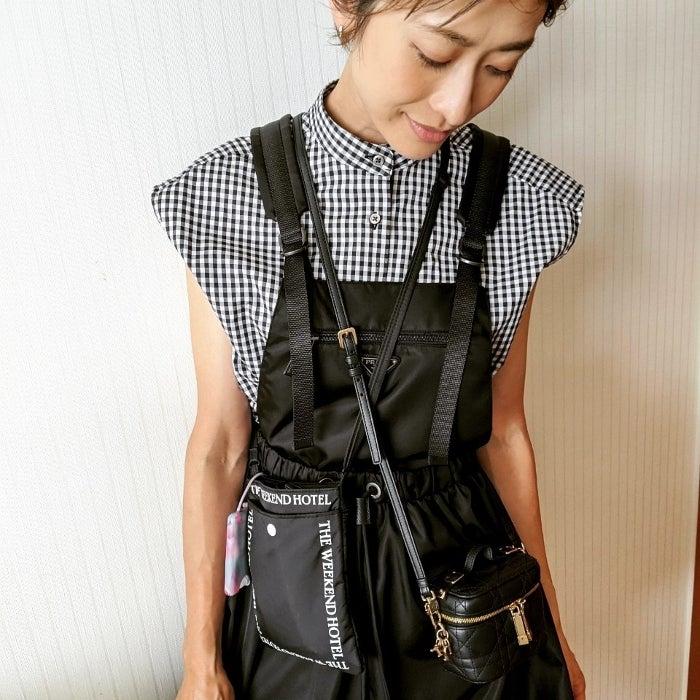 山田優、必需品が入ったバッグを紹介「この2つは毎日マスト」