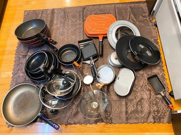 堀ちえみ、引越し前に大量の調理器具を整理「大変なことになってます」