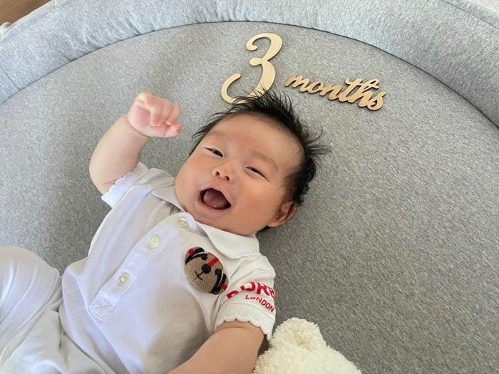 あいのり・桃、生後3か月を迎えた息子へ感謝の思い「毎日伝えてます」