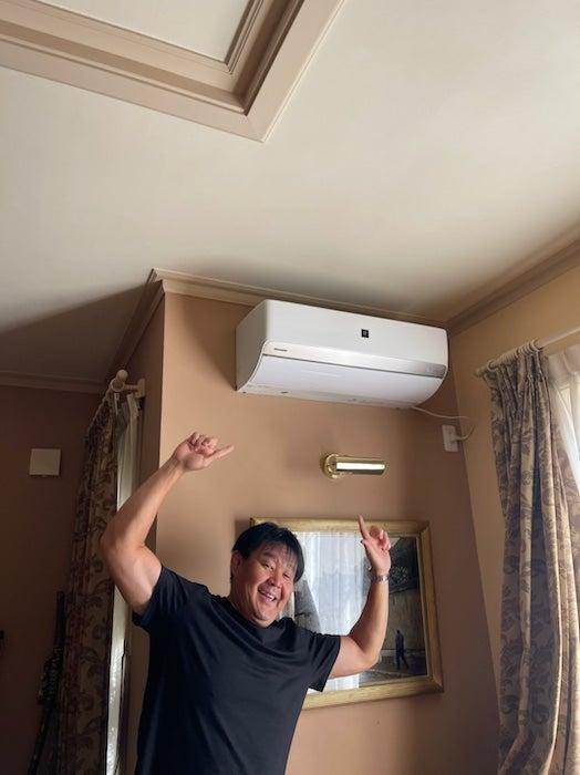 花田虎上、リビングのエアコンだけ定期的に故障する理由に「仕方ないかなぁ」