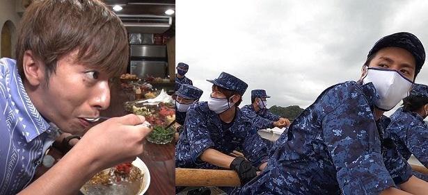 ジャニーズWEST中間淳太、藤井流星らが海上自衛隊に潜入!過酷な訓練で極限状態に<超超ベスト5>