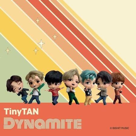 『DYNAMITE』グッズ新登場!「'TinyTAN ポップアップストア' in 大阪」開催