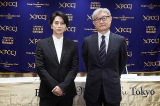 松本潤、「嵐」活動休止後初の公の場 ライブフィルムの海外公開を発表