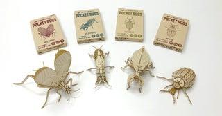 昆虫っておもしろい! 木の3Dパズルで楽しむ「ポケットバグズ」