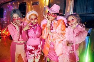 女王蜂、シングル「KING BITCH」発売記念の対談番組&アコースティックライブを2夜連続YouTubeで公開