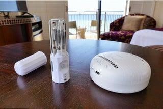 ホテル日航アリビラ、コーナーデラックスツインルーム全4室に除菌ロボットと除菌ライトを導入