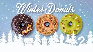 「2foods」から動物性原材料・白砂糖不使用、大人な味わいの冬ドーナツ3種が登場