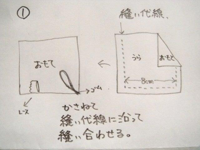 サシェ作り方1