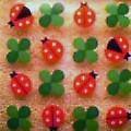 Ladybugs & Four Leaf Clover