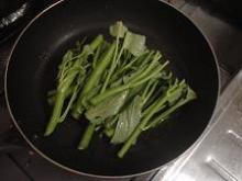 空心菜の炒め物2