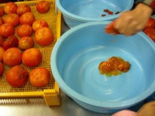 「にゅうとらる」と「2CV」 の のんびり生活-完熟柿ペースト体験