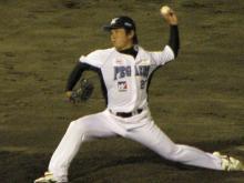 富岡投手、復活!