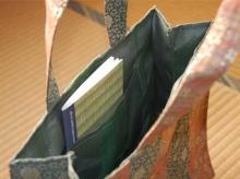 畳縁バッグと畳ノート