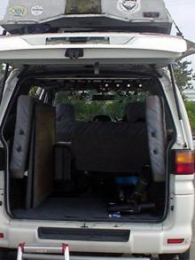 スペースギア トランク