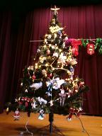 プチ大家族の日常。-クリスマスツリー☆