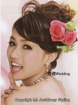 花嫁のヘアスタイル香港☆7