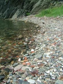 対岸の石は・・・