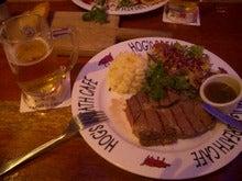 ホグズ・ブレス・カフェのステーキ