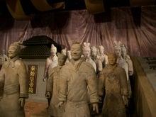 天津博物館の兵馬俑展