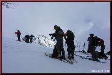 ロフトで綴る山と山スキー-稜線到着