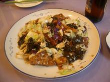 木耳白菜爆豆腐