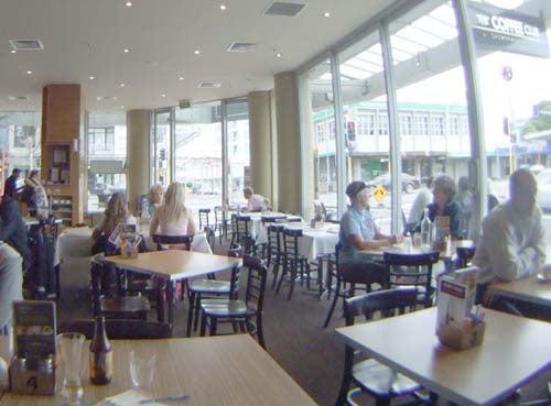 お宝広告館 【まれにみるみれにあむ】-デバンポートのカフェ