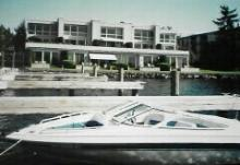 Boat and Lake House