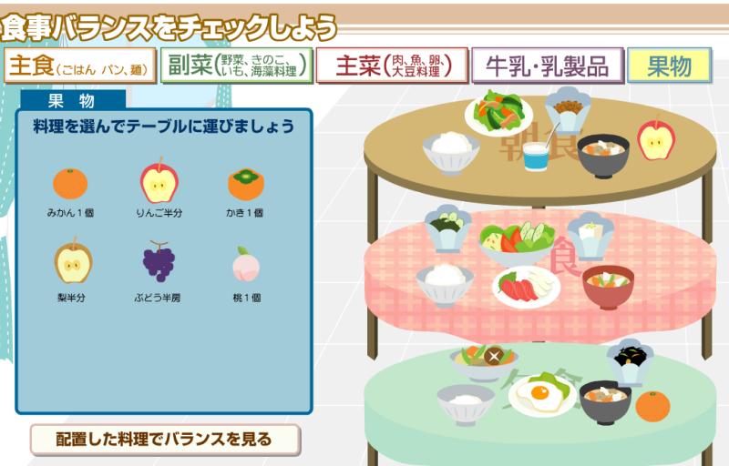 すべての折り紙 折り紙でこま : 食事バランスガイド|Thank you ...