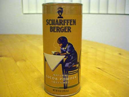 Scharffen Berger のホットチョコレート