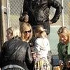 ハイディ・クルムは家族と共にウェスト・ハリウッド公園へ。の画像